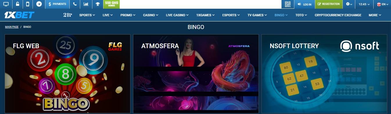 1xBet mobile casino